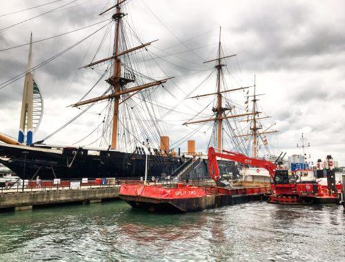 Dredging in Portsmouth
