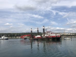 Dredging Trafalgar Wharf